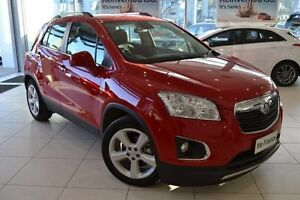 2016 Holden Trax TJ MY17 LTZ Red 6 Speed Automatic Wagon Mill Park Whittlesea Area Preview