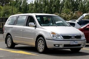 2012 Kia Grand Carnival VQ MY13 S Silver 6 Speed Sports Automatic Wagon Ringwood East Maroondah Area Preview