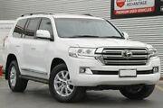 2016 Toyota Landcruiser VDJ200R Sahara Glacier White 6 Speed Sports Automatic Wagon Adelaide CBD Adelaide City Preview