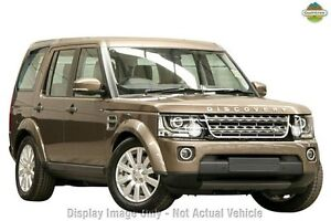2015 Land Rover Discovery Series 4 L319 MY16 TDV6 Mentalcino Red/black 8 Speed Sports Automatic Nedlands Nedlands Area Preview