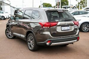 2016 Mitsubishi Outlander ZK MY16 LS 4WD Ironbark 6 Speed Constant Variable Wagon Cannington Canning Area Preview