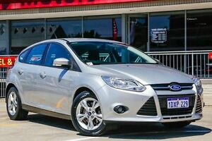 2012 Ford Focus LW Trend PwrShift Silver 6 Speed Sports Automatic Dual Clutch Hatchback Northbridge Perth City Area Preview