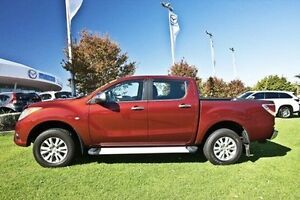 2012 Mazda BT-50 UP0YF1 GT Red 6 Speed Sports Automatic Utility Wangara Wanneroo Area Preview