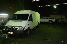 2005 Mercedes-Benz Sprinter  White Manual Van Smithfield Parramatta Area Preview