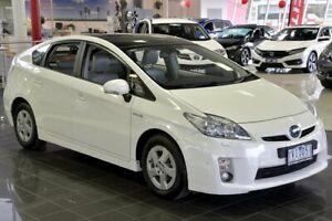 2011 Toyota Prius ZVW30R I-Tech White 1 Speed Constant Variable Liftback Hybrid Narre Warren Casey Area Preview