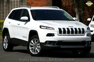 2015 Jeep Cherokee KL MY15 Limited Bright White 9 Speed Sports Automatic Wagon Blacktown Blacktown Area Preview