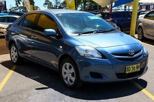 2006 Toyota Yaris NCP93R YRS Blue 4 Speed Automatic Sedan Colyton Penrith Area Preview