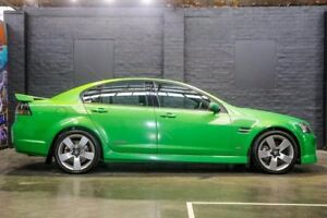2008 Holden Commodore VE MY09 SS V Green 6 Speed Sports Automatic Sedan