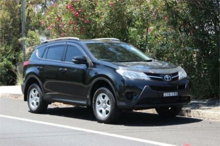 2015 Toyota RAV4 ZSA42R MY14 Upgrade GX (2WD) Black Continuous Variable Wagon West Gosford Gosford Area Preview