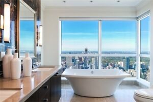 Luxury rentals- Shangri la, St. Regis and The Ritz Carlton.