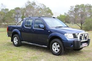 2010 Nissan Navara D40 ST Blue 5 Speed Automatic Utility Ormeau Gold Coast North Preview
