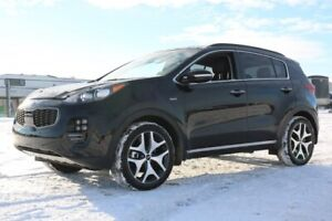 2018 Kia Sportage AWD SX TURBO Navigation (GPS),  Leather,  Heat