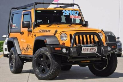 2012 Jeep Wrangler JK MY2012 Sport Orange 5 Speed Automatic Softtop