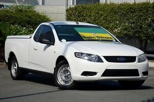 2011 Ford Falcon FG Super Cab White 6 Speed Automatic Cab Chassis Acacia Ridge Brisbane South West Preview