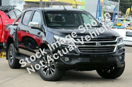 2018 Holden Colorado RG MY19 LTZ Pickup Crew Cab Black 6 Speed Sports Automatic Utility Adelaide CBD Adelaide City Preview