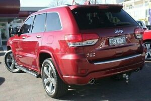 2013 Jeep Grand Cherokee WK MY13 Overland (4x4) Red 5 Speed Automatic Wagon Waitara Hornsby Area Preview
