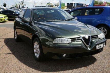 2000 Alfa Romeo 156 Twin Spark Green 5 Speed Manual Sedan