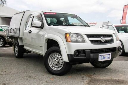 2010 Holden Colorado RC MY10 LX (4x2) White 4 Speed Automatic