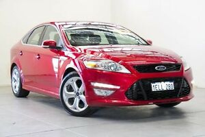 2014 Ford Mondeo MC Titanium PwrShift TDCi Red 6 Speed Sports Automatic Dual Clutch Hatchback Osborne Park Stirling Area Preview