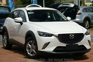 2017 Mazda CX-3 DK2W7A Maxx SKYACTIV-Drive White Pearl 6 Speed Sports Automatic Wagon West Hindmarsh Charles Sturt Area Preview