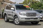 2011 Toyota Landcruiser VDJ200R MY10 Sahara Silver 6 Speed Sports Automatic Wagon Noosaville Noosa Area Preview