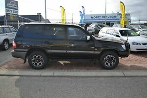 2006 Toyota Landcruiser 100 Series Sahara Black 5 Speed Automatic Wagon East Rockingham Rockingham Area Preview