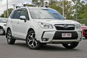 2013 Subaru Forester S4 MY13 XT Lineartronic AWD Premium White 8 Speed Constant Variable Wagon Hillcrest Logan Area Preview