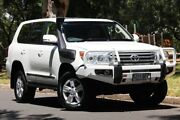 2015 Toyota Landcruiser VDJ200R MY13 Sahara White 6 Speed Sports Automatic Wagon Hawthorn Mitcham Area Preview