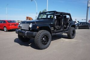 2016 Jeep Wrangler Unlimited 6IN LIFT CUSTOM Accident Free,  Blu