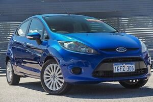 2013 Ford Fiesta WT LX PwrShift Blue 6 Speed Sports Automatic Dual Clutch Hatchback Maddington Gosnells Area Preview