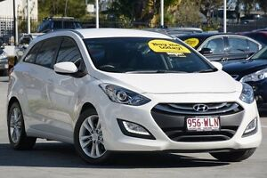 2013 Hyundai i30 GD Active Tourer White 6 Speed Sports Automatic Wagon Moorooka Brisbane South West Preview