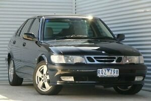 2002 Saab 9-3 MY2002 Anniversary Black 4 Speed Automatic Sedan Thomastown Whittlesea Area Preview
