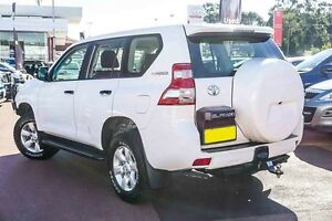 2014 Toyota Landcruiser Prado KDJ150R MY14 GX White 6 Speed Manual Wagon Westminster Stirling Area Preview