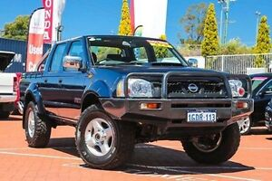 2014 Nissan Navara D22 S5 ST-R Blue 5 Speed Manual Utility Myaree Melville Area Preview