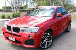 2014 BMW X4 F26 xDrive20i Coupe Steptronic Melbourne Red 8 Speed Automatic Wagon