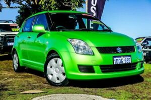 2010 Suzuki Swift RS415 Green 4 Speed Automatic Hatchback Wangara Wanneroo Area Preview