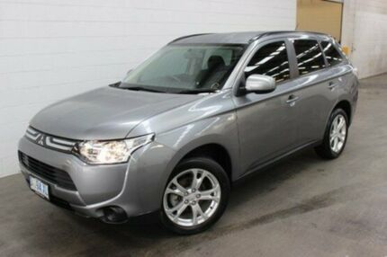 2013 Mitsubishi Outlander ZJ MY14 ES 4WD Grey 6 Speed Constant Variable Wagon Burnie Area Preview