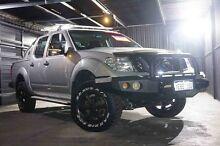 2012 Nissan Navara D40 S5 MY12 ST-X 550 Silver 7 Speed Sports Automatic Utility Wangara Wanneroo Area Preview