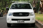 2009 Toyota Hilux GGN15R MY10 SR Xtra Cab 4x2 White 5 Speed Automatic Utility Hawthorn Mitcham Area Preview