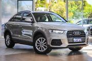 2015 Audi Q3 8U MY14 TDI S tronic quattro Silver 7 Speed Sports Automatic Dual Clutch Wagon Osborne Park Stirling Area Preview