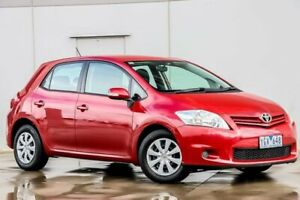 2011 Toyota Corolla ZRE152R MY11 Ascent Burgundy 4 Speed Automatic Hatchback Pakenham Cardinia Area Preview