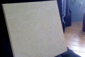 REDUCED OVER 400 SQ FT OF BEAUTIFUL ITALIAN CREAM MARBLE TILES