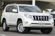 2014 Toyota Landcruiser Prado KDJ150R MY14 VX Crystal Pearl 5 Speed Sports Automatic Wagon Christies Beach Morphett Vale Area Preview