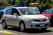 2009 Nissan Tiida C11 MY07 ST Gold 4 Speed Automatic Hatchback Ringwood East Maroondah Area Preview