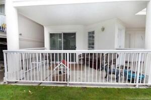 Beautiful ground floor unit with private entrance