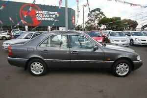 1995 Mercedes-Benz C220 W202 Elegance Grey 4 Speed Automatic Sedan Kingsville Maribyrnong Area Preview