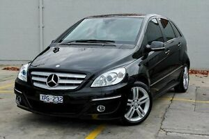 2010 Mercedes-Benz B180 245 MY10 Black 7 Speed Constant Variable Hatchback Bentleigh Glen Eira Area Preview