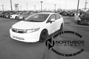 2012 Honda Civic Sdn LX Accident Free,