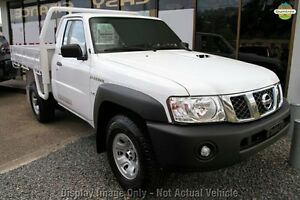 2012 Nissan Patrol Y61 GU 6 SII MY13 DX Polar White 5 Speed Manual Cab Chassis Wangara Wanneroo Area Preview