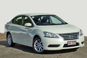 2014 Nissan Pulsar B17 ST White 1 Speed Constant Variable Sedan Kedron Brisbane North East Preview